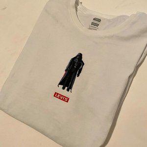 Darth Vader Levi's Shirt - Women's L - Star Wars